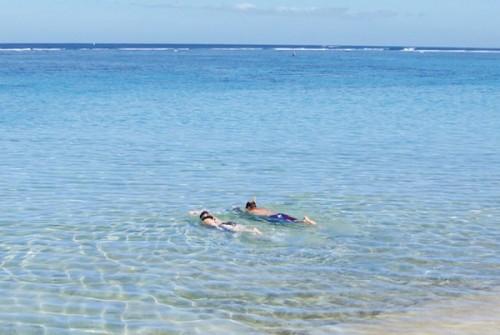 Prêts pour le grand plongeon à la Réunion